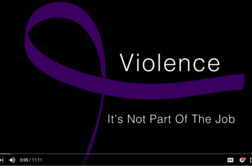 Violence: It's not Part of the Job