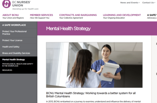 Mental Health Strategy Campaign