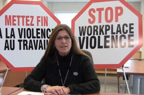Stop Workplace Violence #Fix the Law