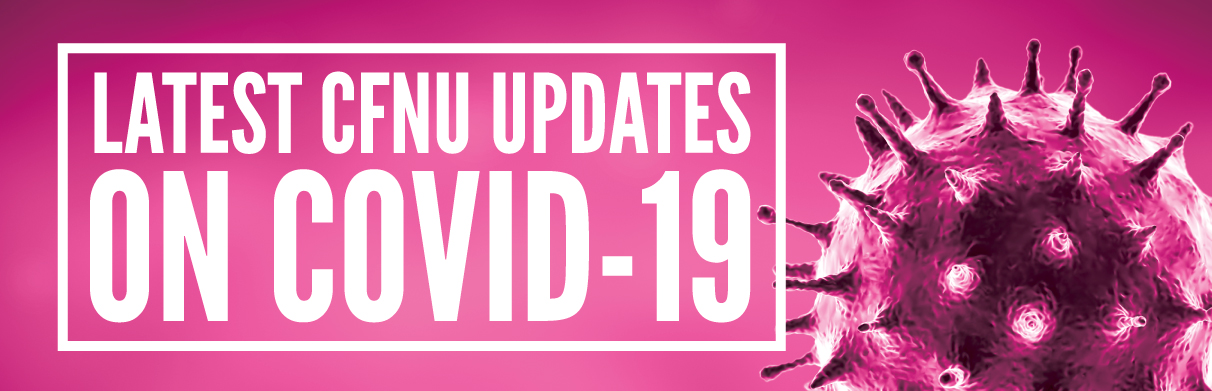 Latest CFNU updates on COVID-19