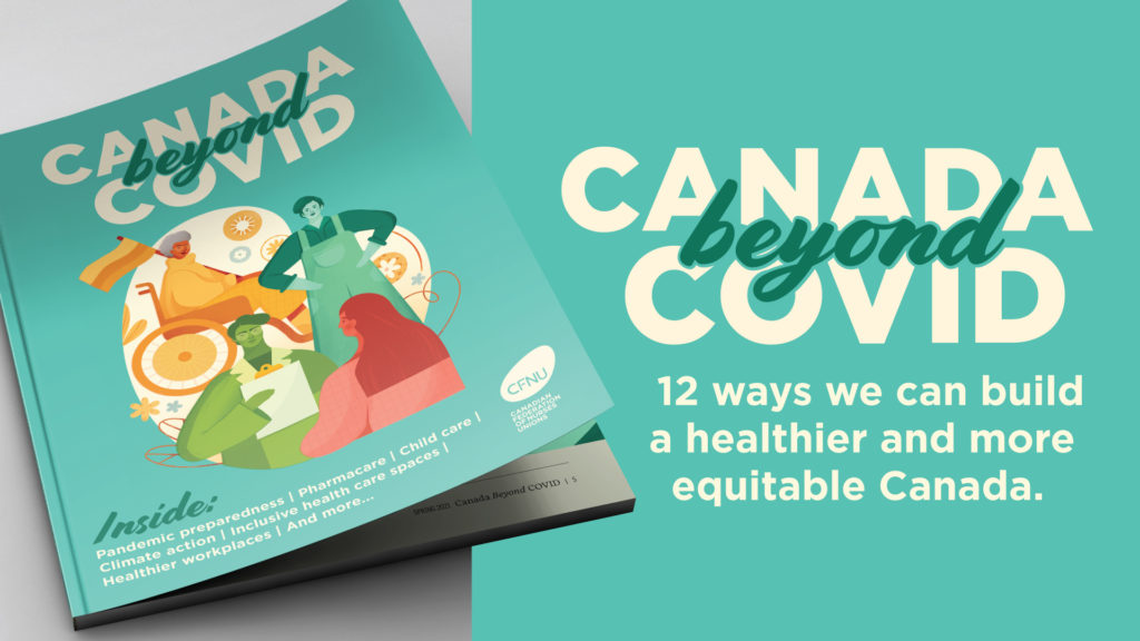 Canada Beyond COVID 12 ways to build a healthier and more equitable Canada
